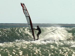 Chuck at Surf Beach